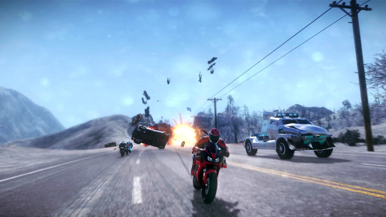 Road redemption бомба