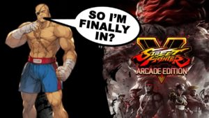Street Fighter Arcade Edition - Sagat